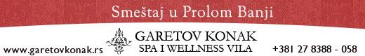 Garetov Konak Prolom Banja