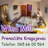 prenociste wind mill kragujevac