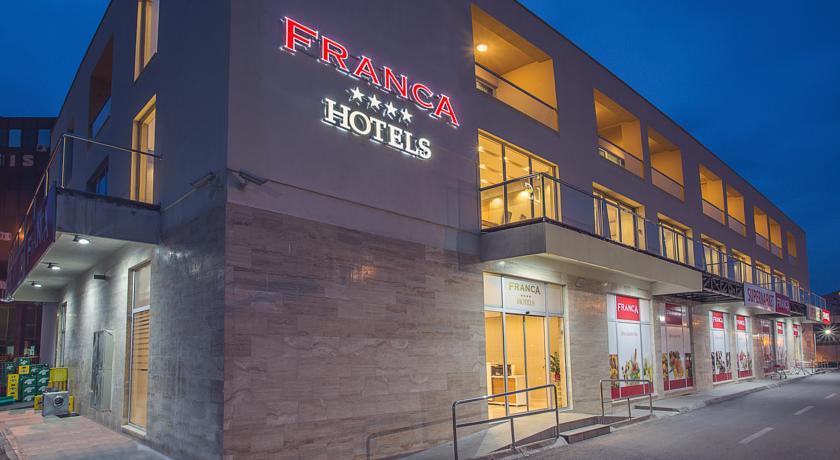 online rezervacije Hotel Franca
