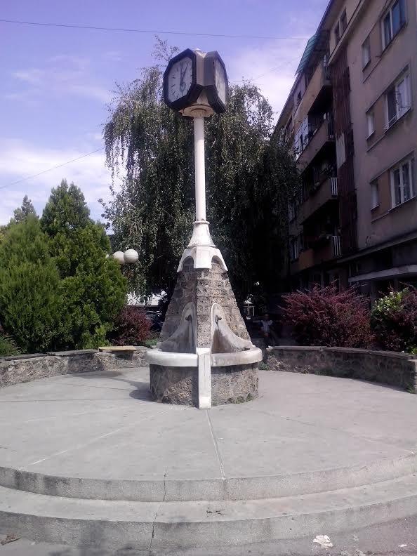 U centru Aleksinca - Sat Aleksinac