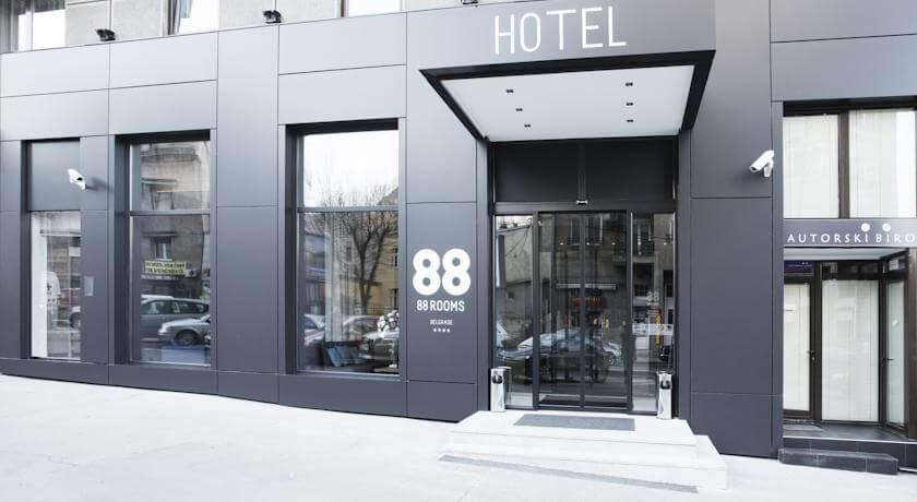 online rezervacije 88 Rooms Hotel