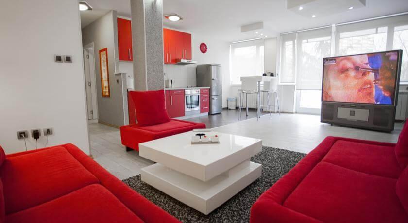 online rezervacije Apartment Red