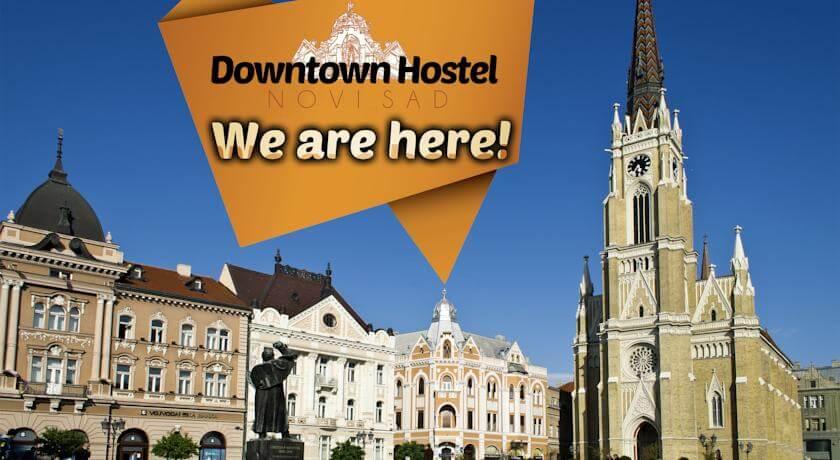online rezervacije Downtown Hostel Novi Sad