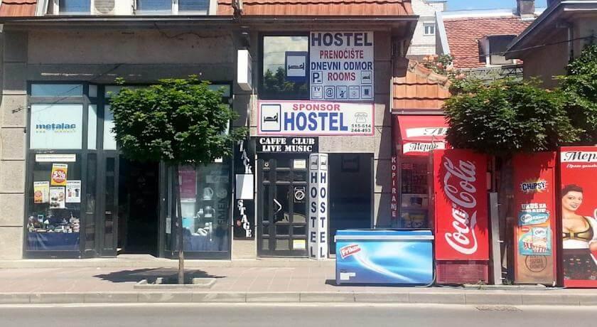 online rezervacije Hostel Sponsor