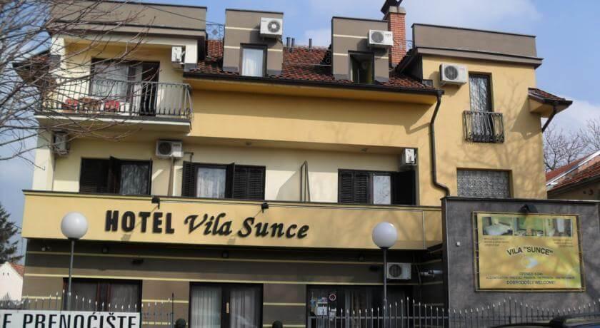 online rezervacije Hotel Vila Sunce