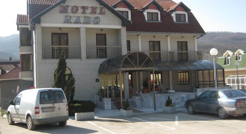 online rezervacije Motel Rado