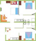 Apartmaji Bovška hiša